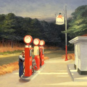 E. Hopper: Gas